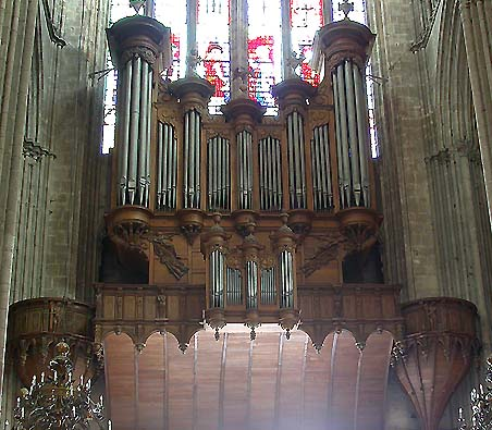 Orgue de la Cathédrale de Bourges